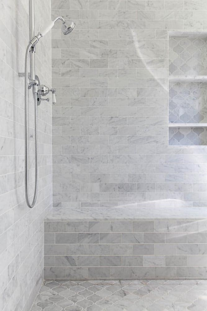 Napa Farmhouse Master Bathroom Remodel Image