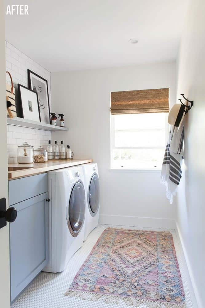 Napa Farmhouse Laundry Room Remodel After Image