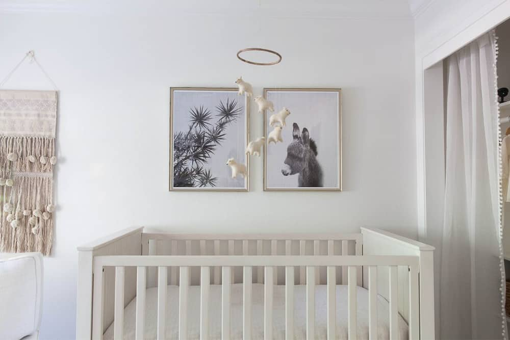 Napa Farmhouse Nursery Remodel Image