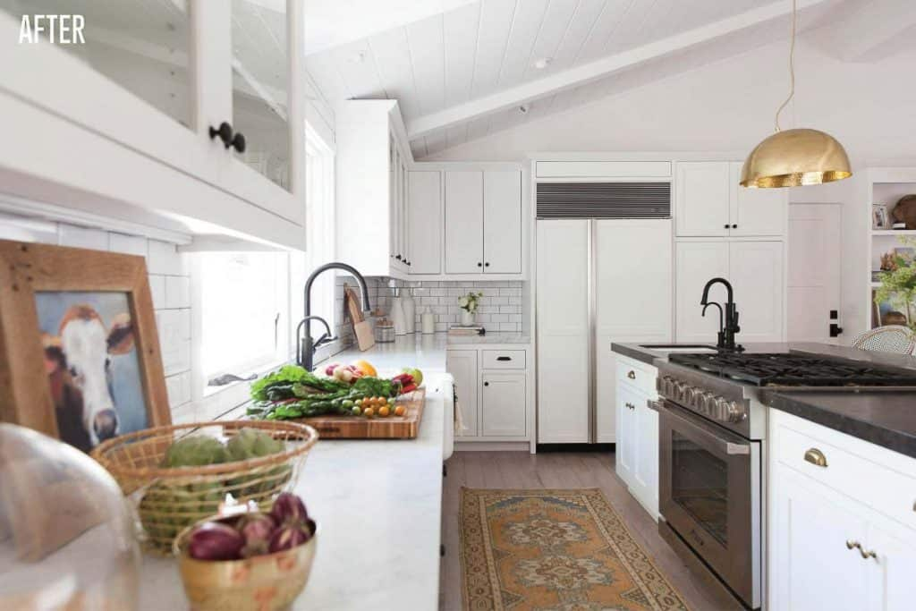 Napa Farmhouse Kitchen Remodel After Image