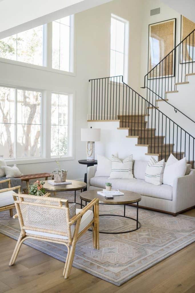 Newport Modern Living Room Remodel Image