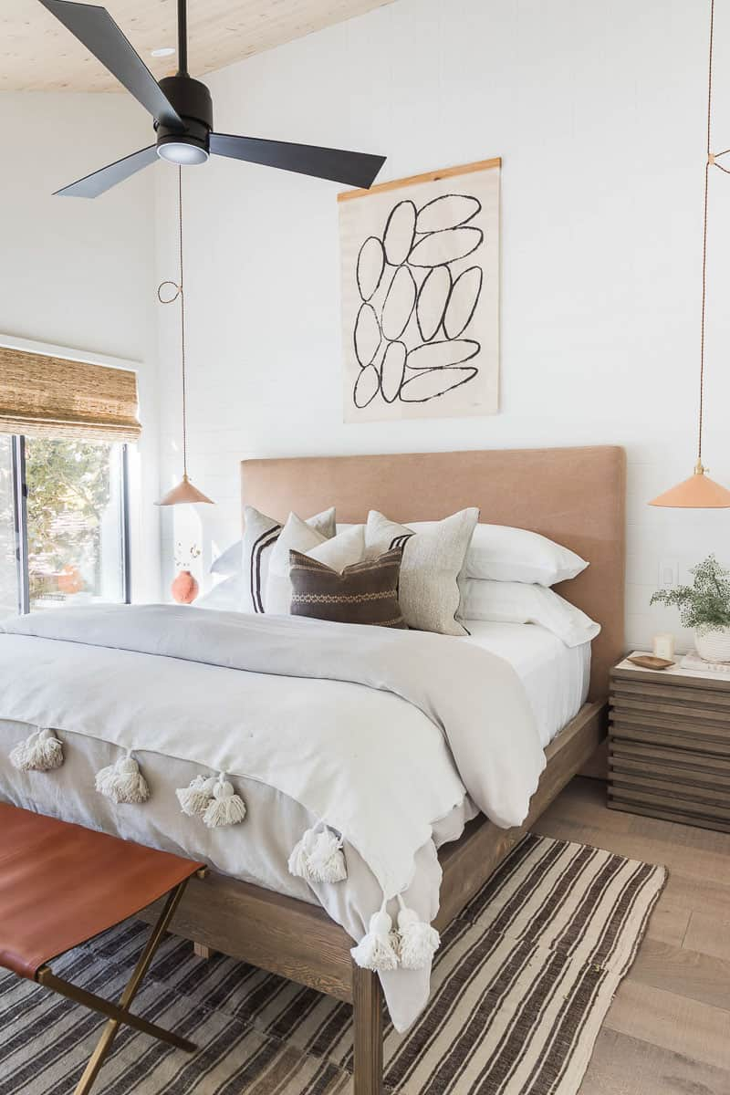 Lake Arrowhead Cabin Remodel Master Suite After Image