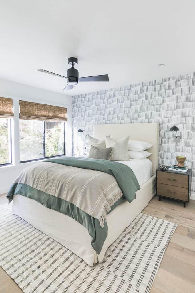 Lake Arrowhead Cabin Remodel Bedroom After Image