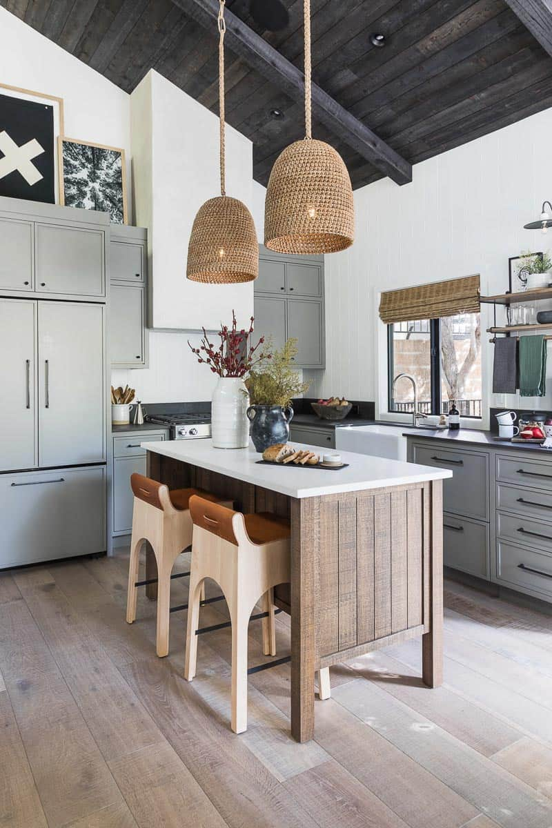 Lake Arrowhead Cabin Remodel Kitchen After Image