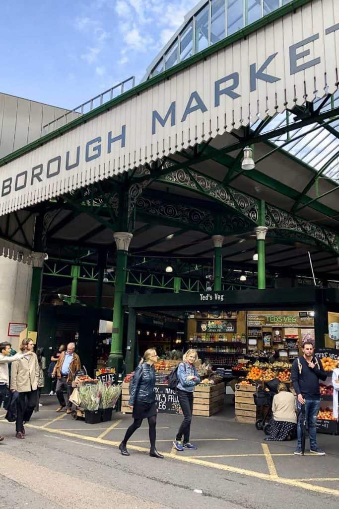 London Guide Borough Street Market
