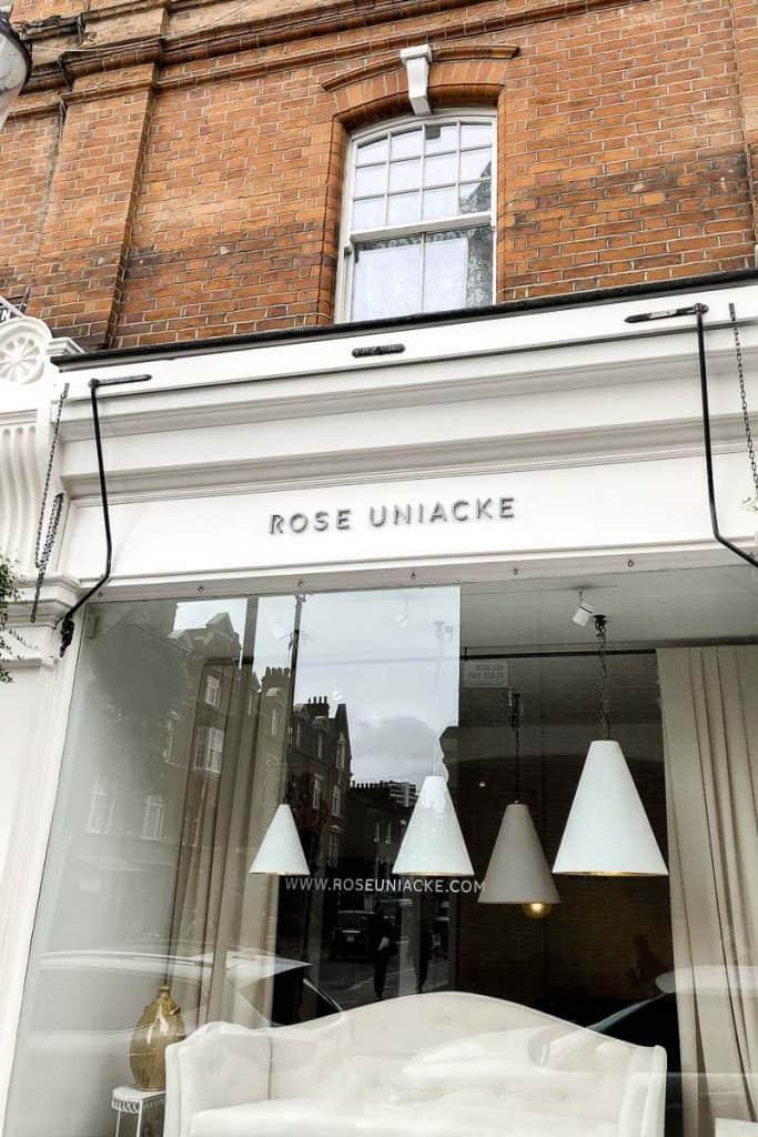 London Guide Pimlico Road Image