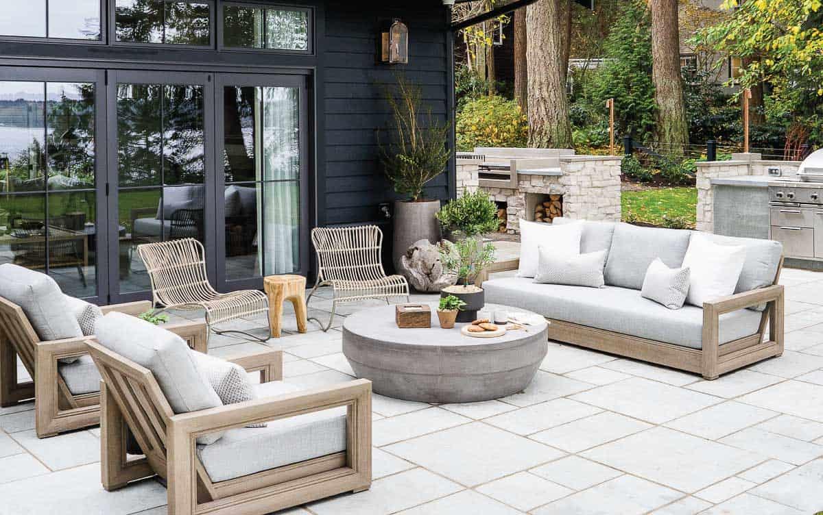 Bainbridge Island Outdoor Retreat - Mindy Gayer Design Co.