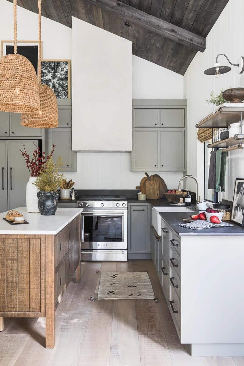 Lake House Kitchen Design - Mindy Gayer Design Co.