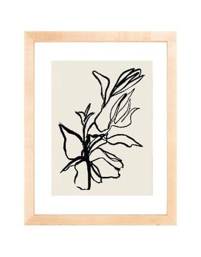Flora in Noir