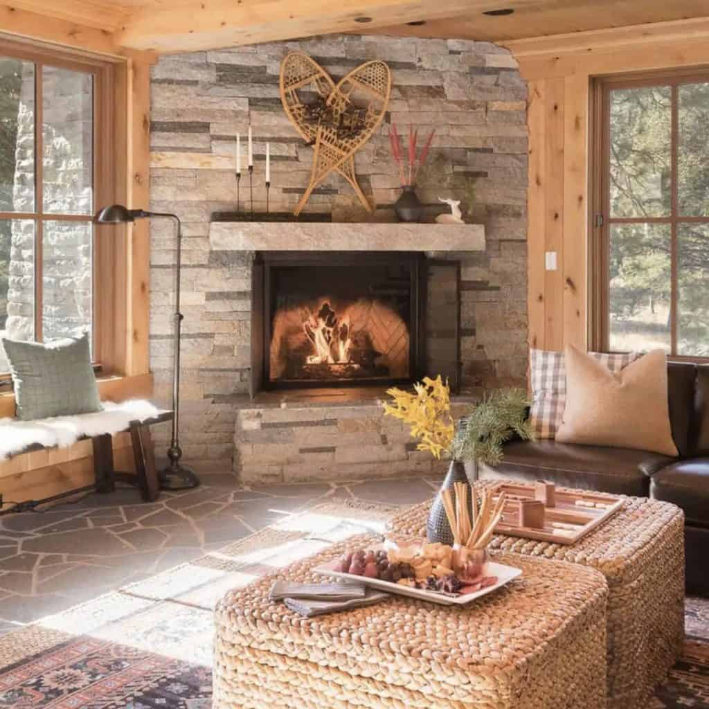 Truckee California Cabin Rental - Mindy Gayer Design Co.