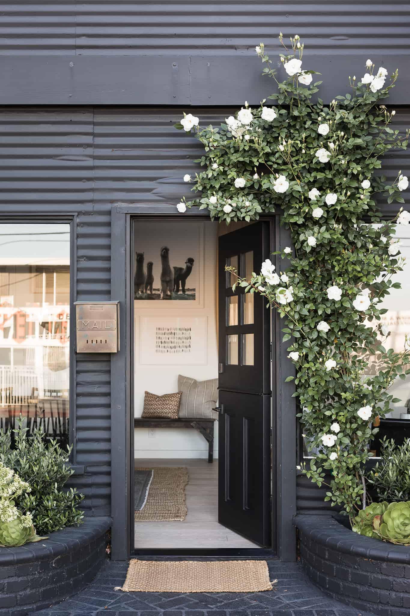 Dark Exterior Paint Colors - Mindy Gayer Design Co. - Design House