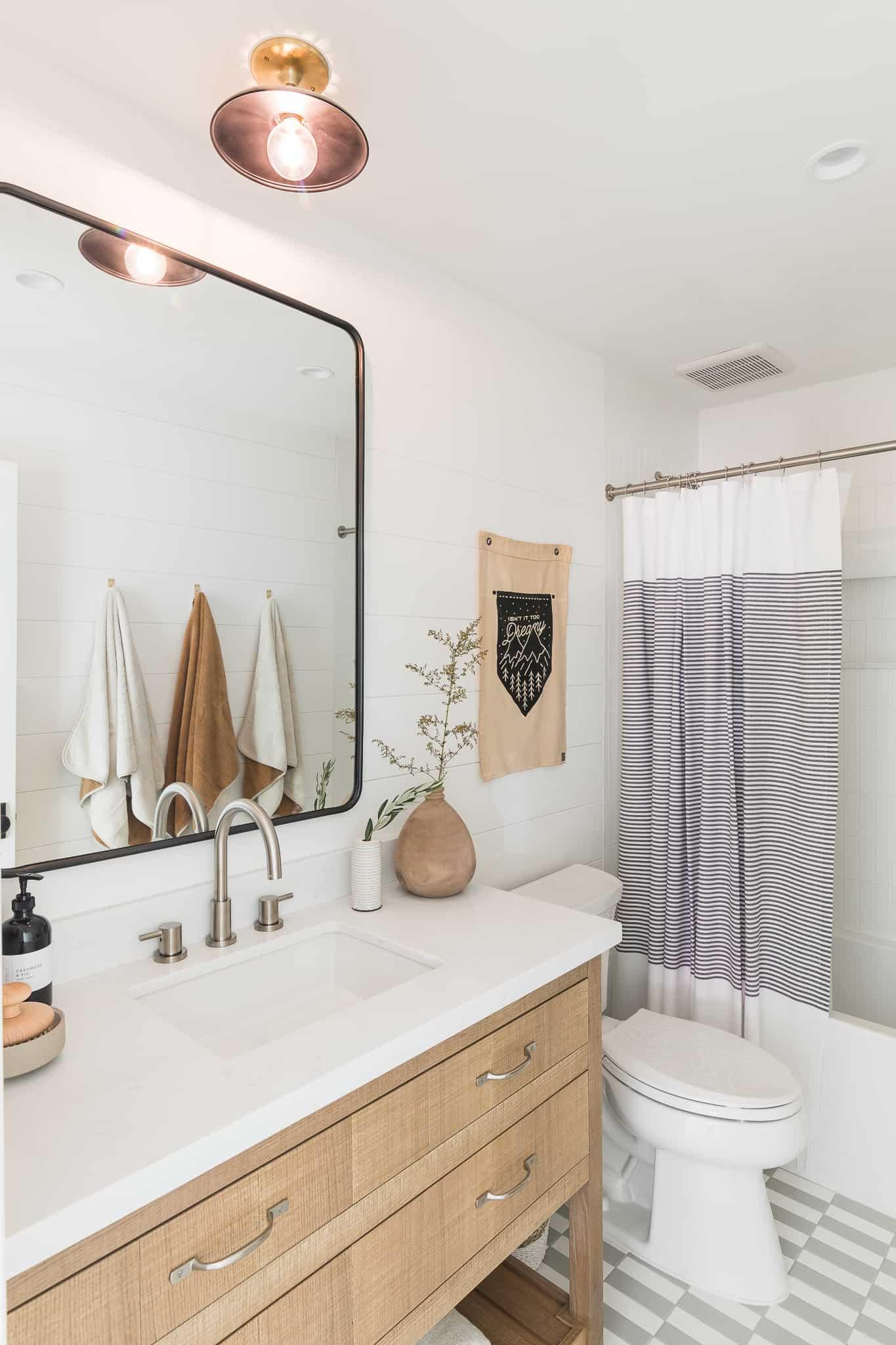 Lake Arrowhead Bathroom Remodel: Splurge vs. Save - Mindy Gayer Design Co.