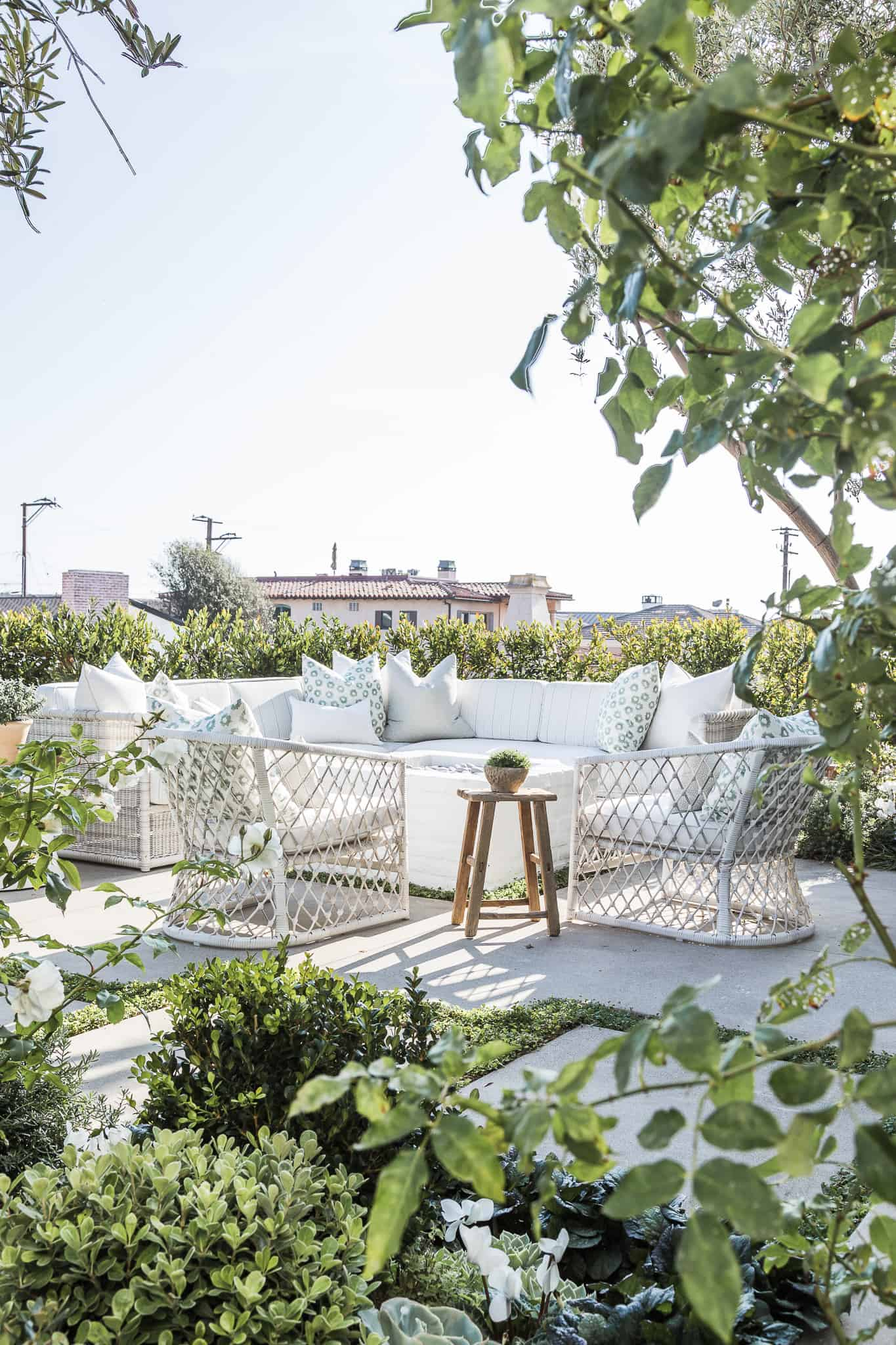 Serena & Lily Outdoor Sectional & Chairs - Marigold Project Image