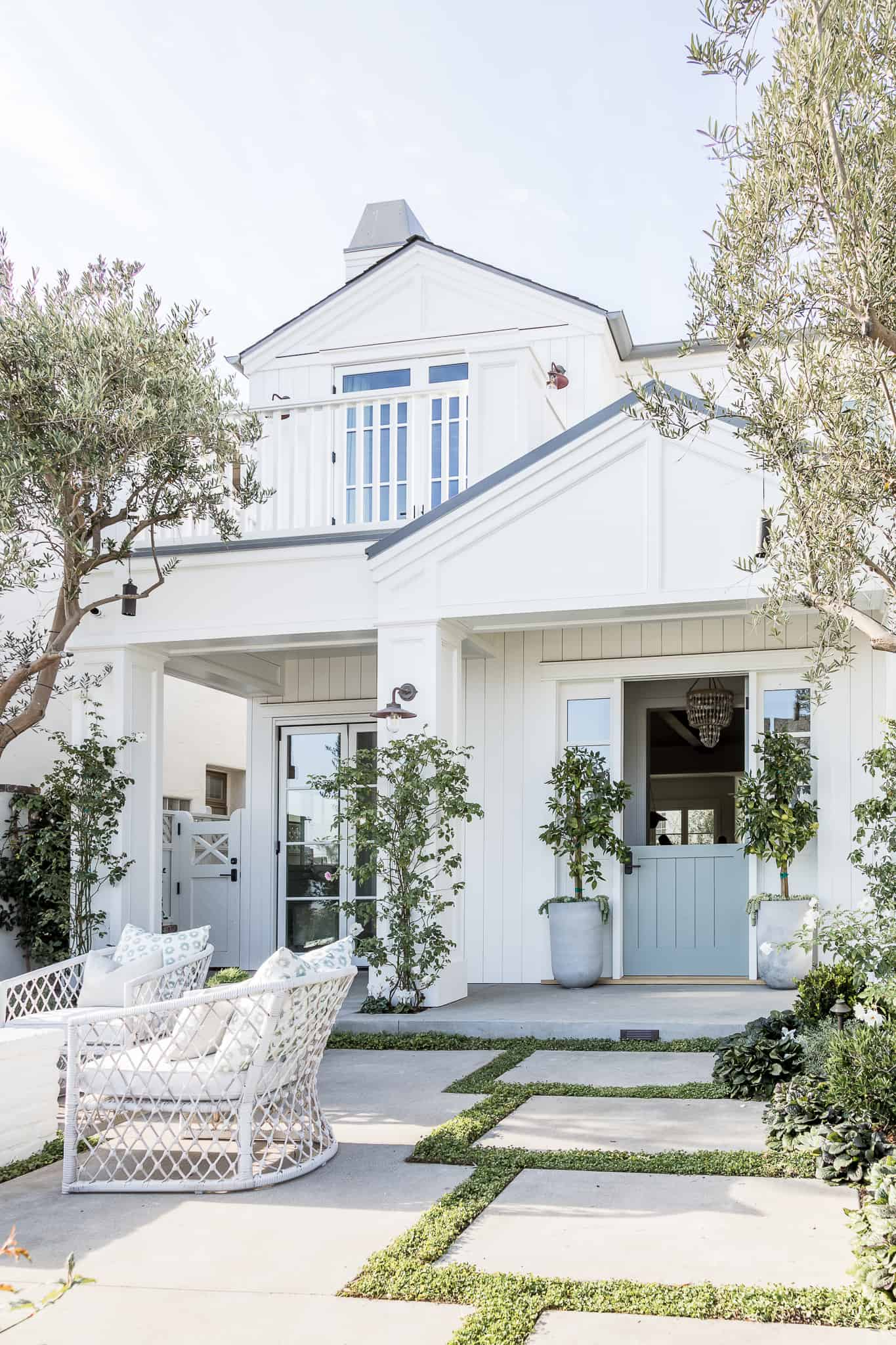 Marigold Project Image - Mindy Gayer Design Co. - White Exterior Paint Colors