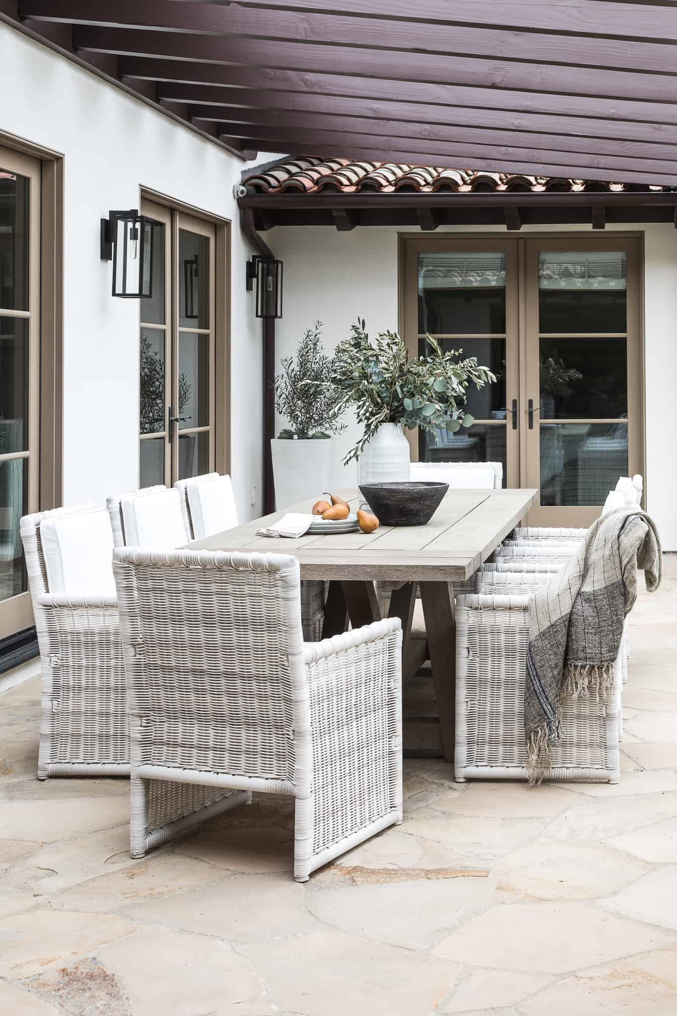 Serena & Lily Outdoor Dining Chairs - Mindy Gayer Spanish Canyon Image