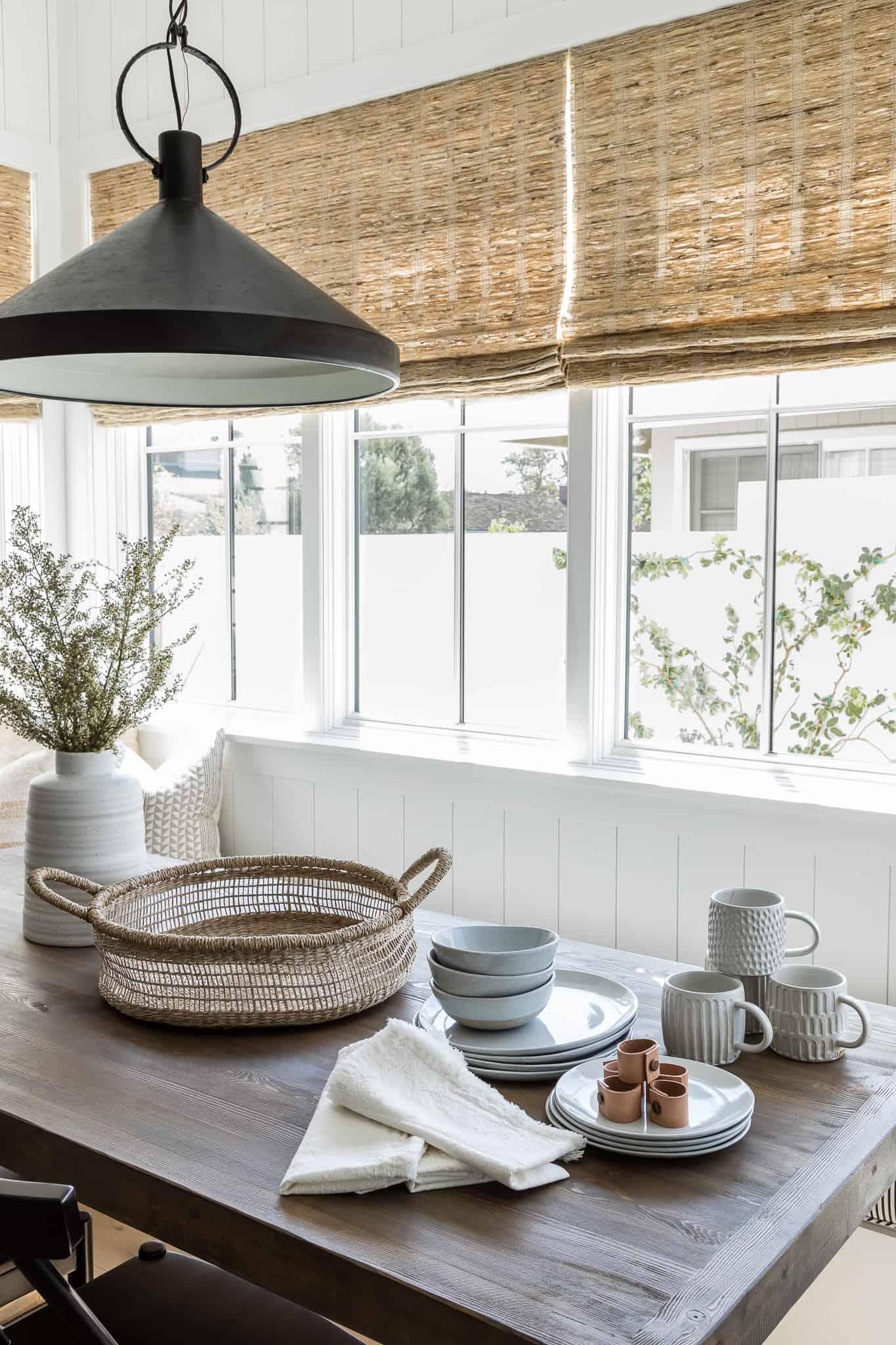 Windward Breakfast Nook Design - Mindy Gayer Design Co.