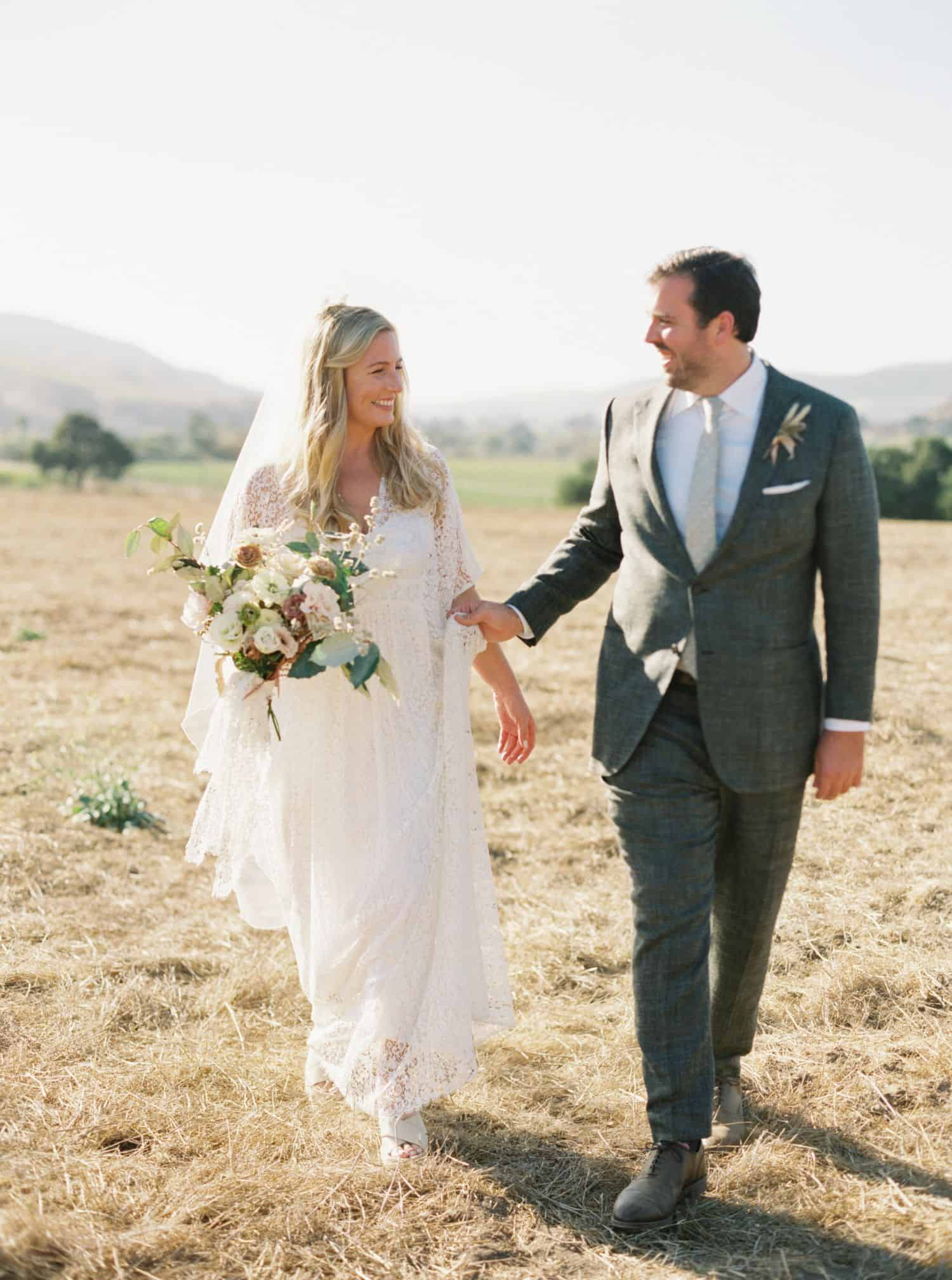 Intimate Wine Country Wedding - Mindy & Evan