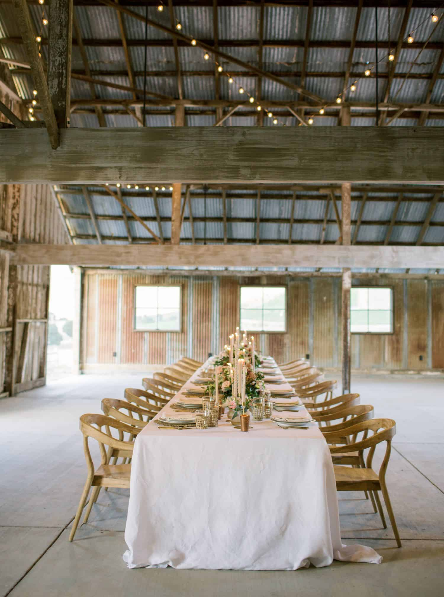 Intimate Wine Country Wedding Reception - Mindy Gayer Design Co.