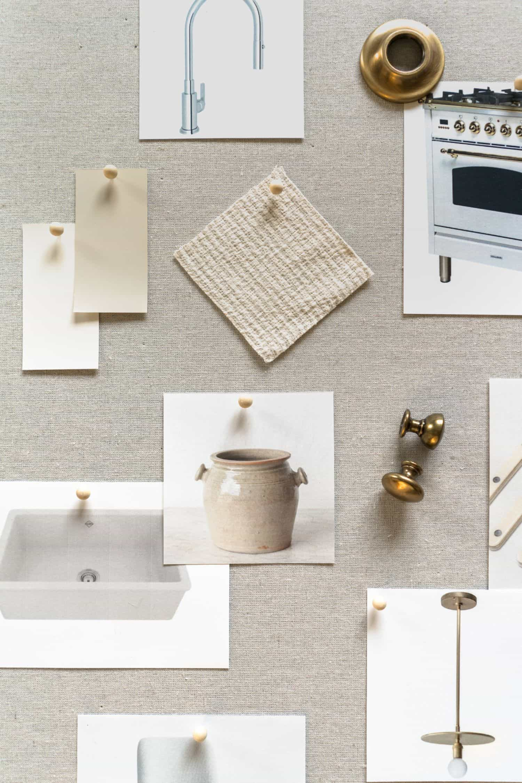 Neutral Kitchen Mood Board - Mindy Gayer Design Co.