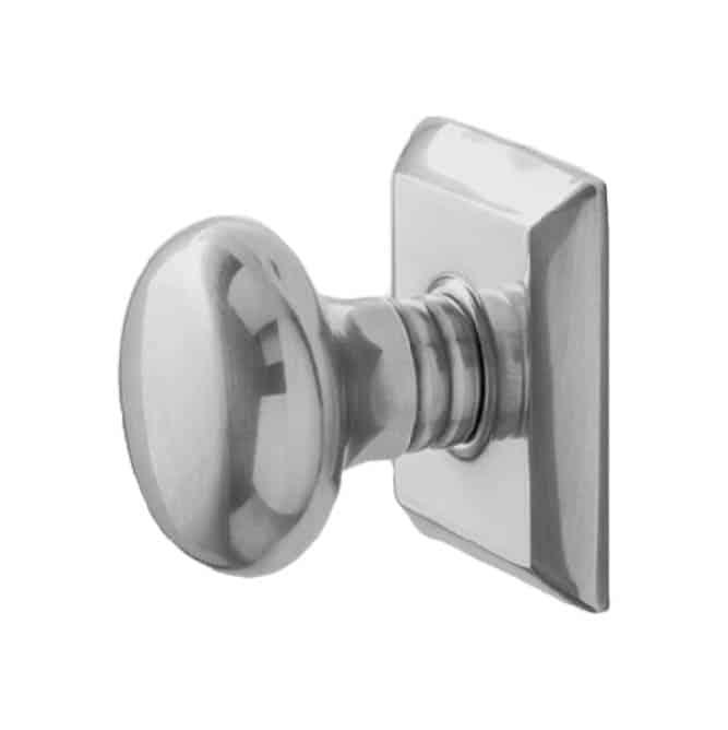 Satin Nickel Door Hardware - Mindy Gayer Design Co.