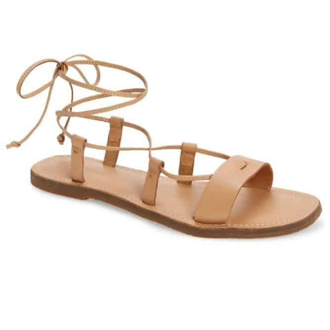 Lace Up Sandals - The MGD Log