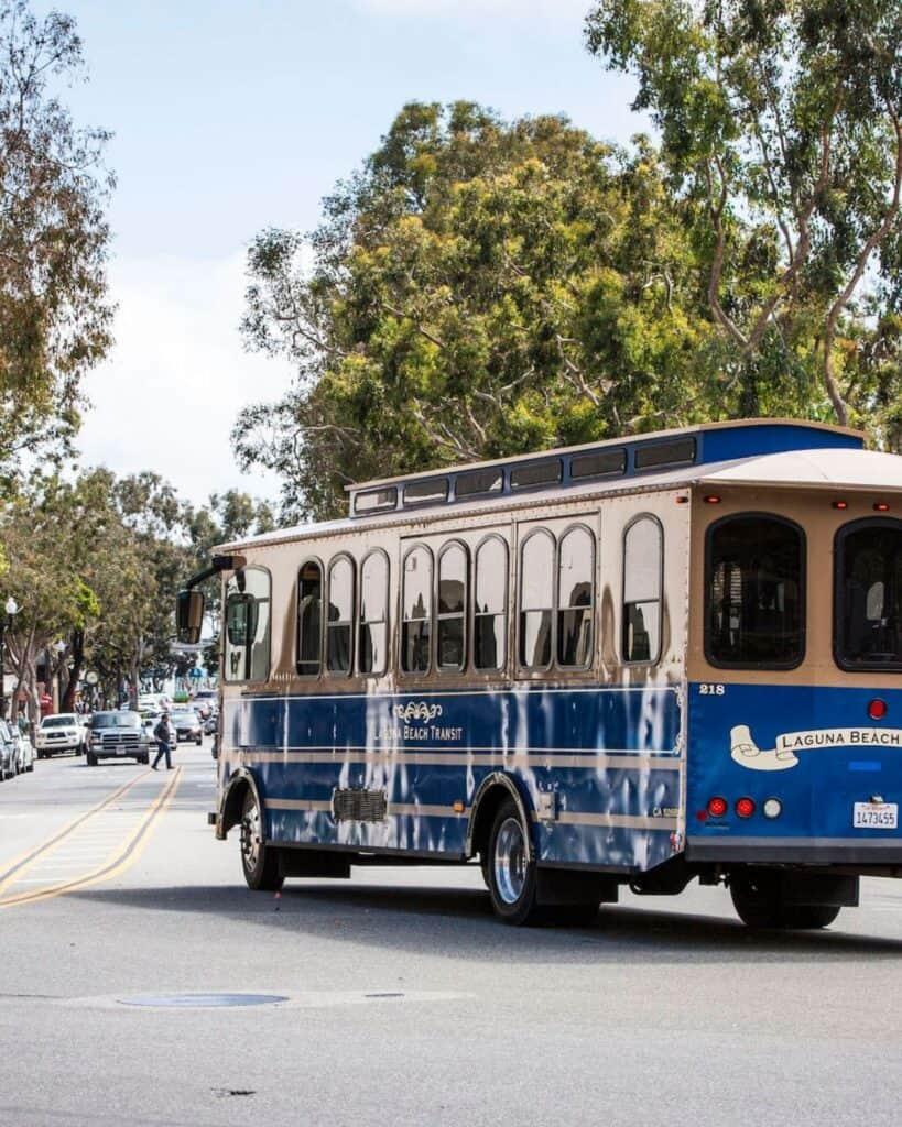 Laguna Beach Trolley - The MGD Log