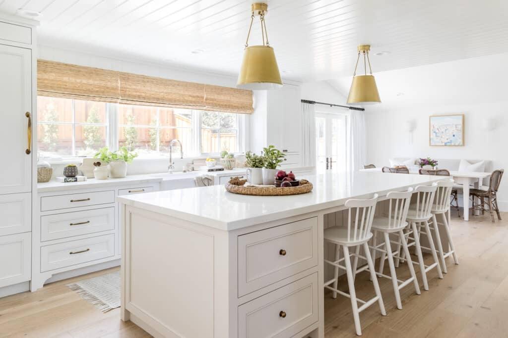 Coastal Home Design - Kitchen Island - Mindy Gayer Design Co.