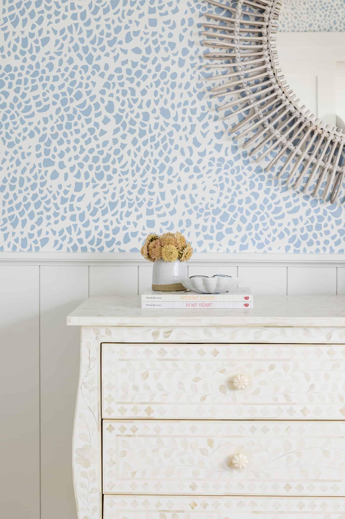 Girls Bedroom Design - Port Newport Project - Mindy Gayer Design Co.