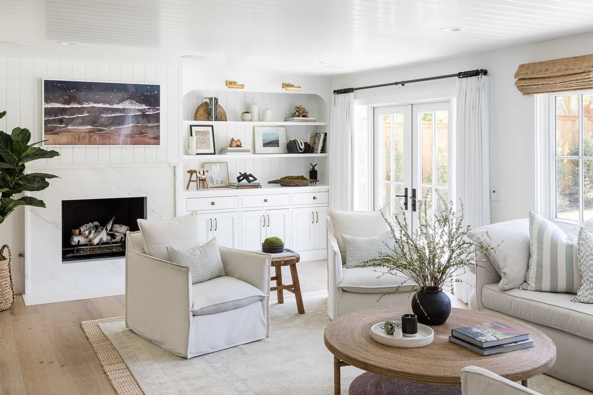 Port Newport Project - Mindy Gayer Design Co. - Family Room
