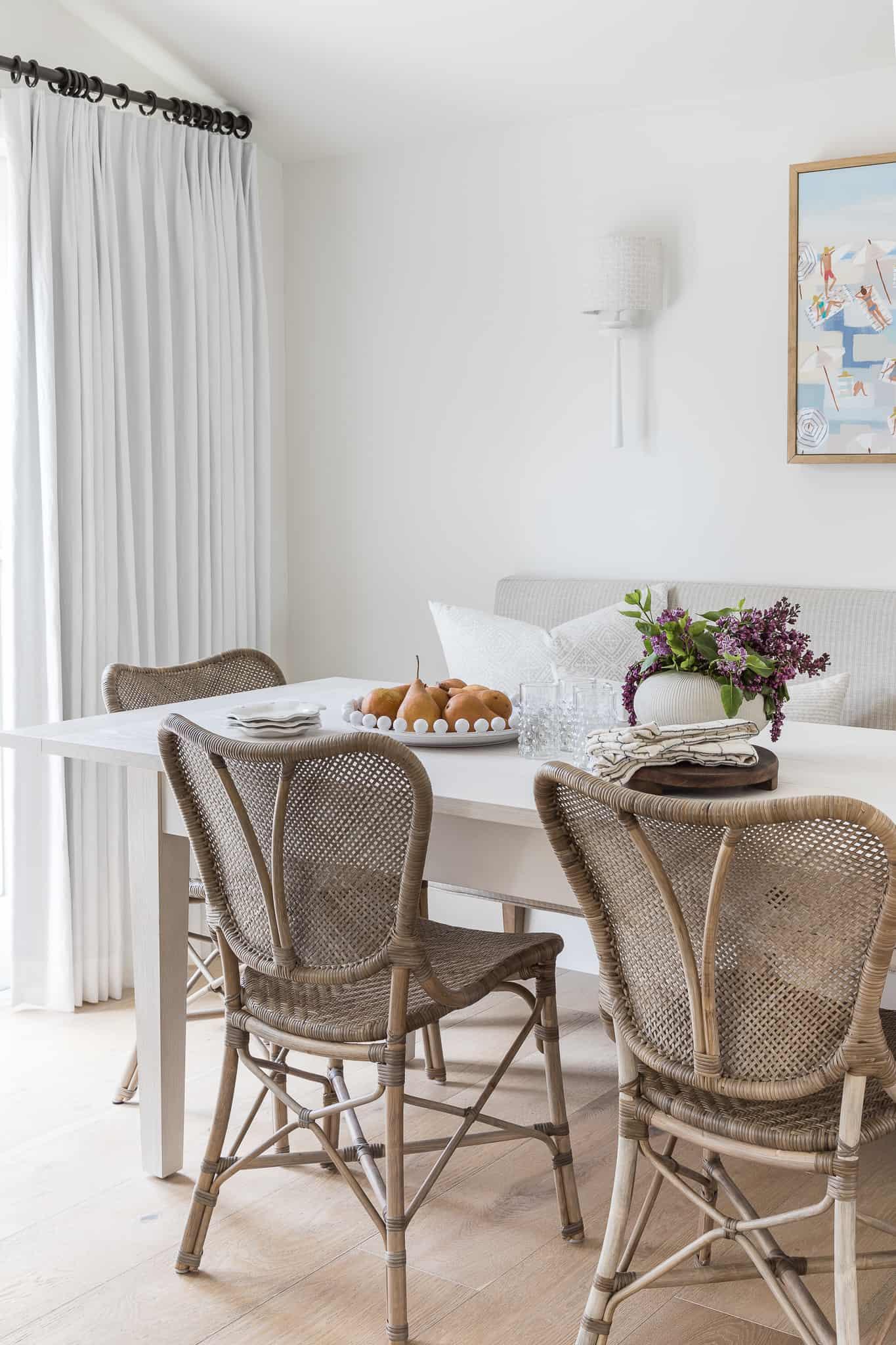 Coastal Home Design - Kitchen Nook - Mindy Gayer Design Co.