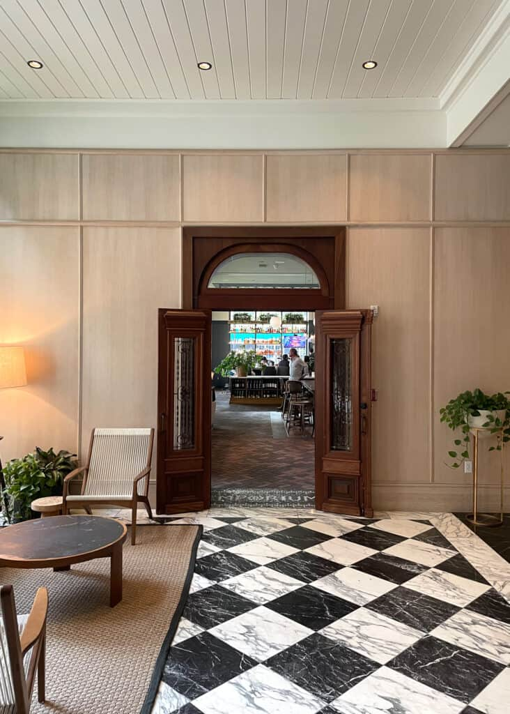 Perry Lane Hotel - Savannah Travel Guide by Mindy Gayer Design Co.