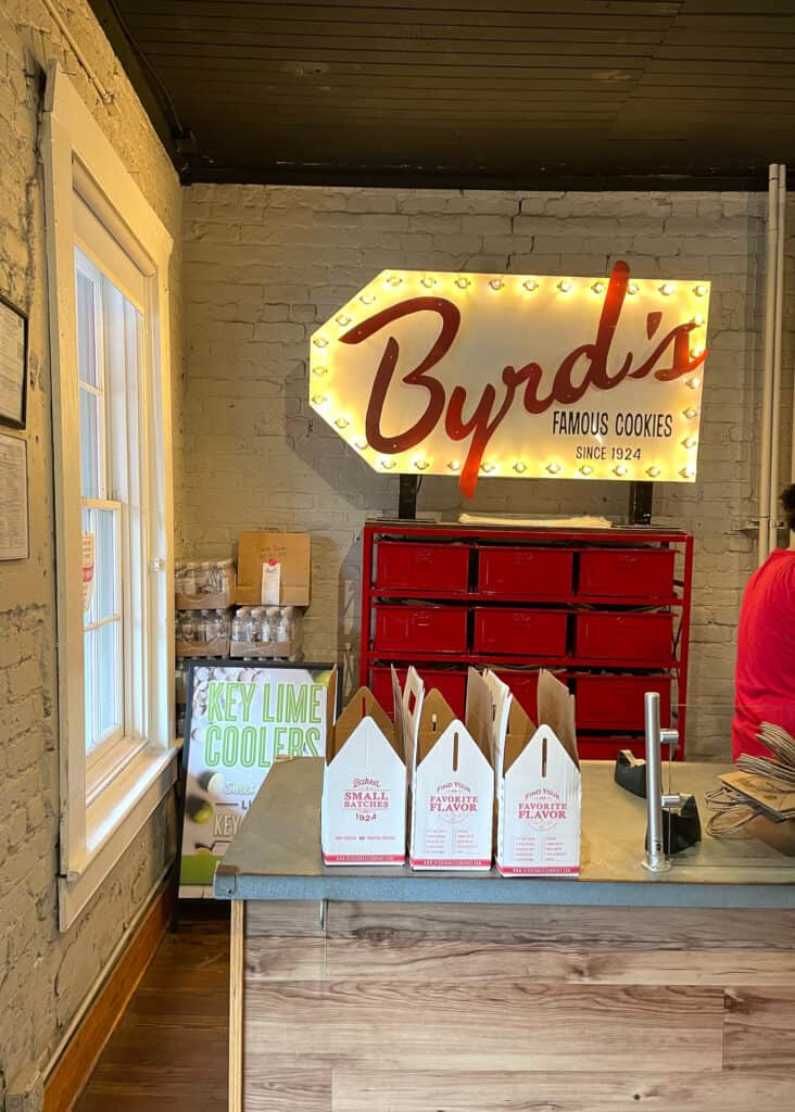 Byrd's Cookies - Savannah Travel Guide by Mindy Gayer Design Co.