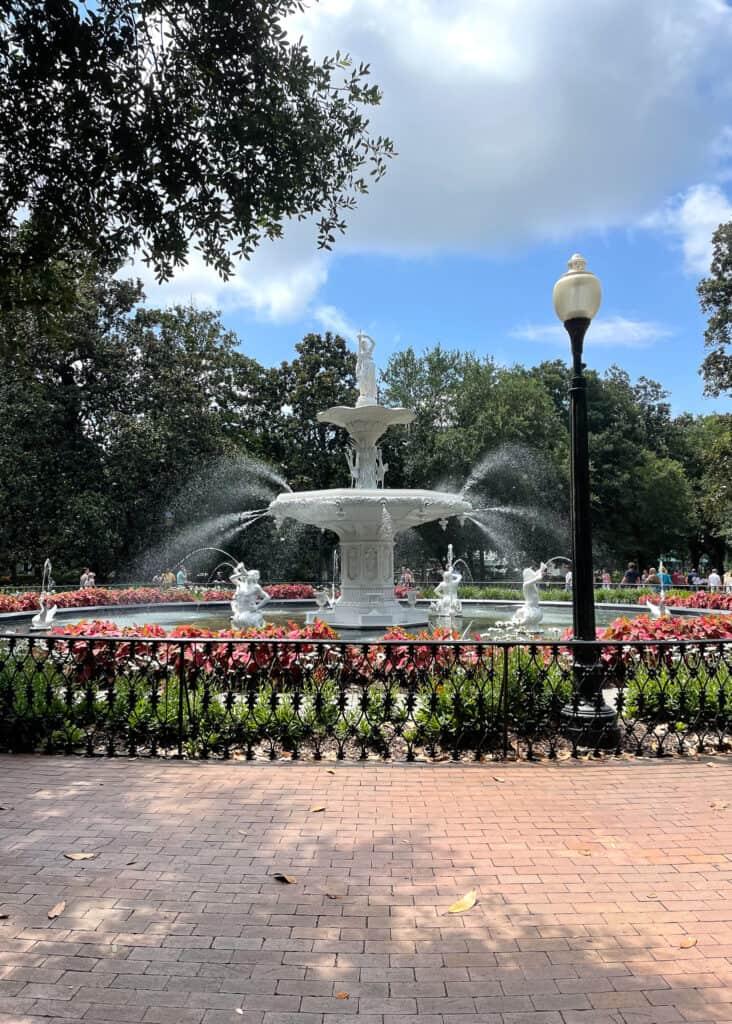 Forsyth Park - Savannah Travel Guide by Mindy Gayer Design Co.