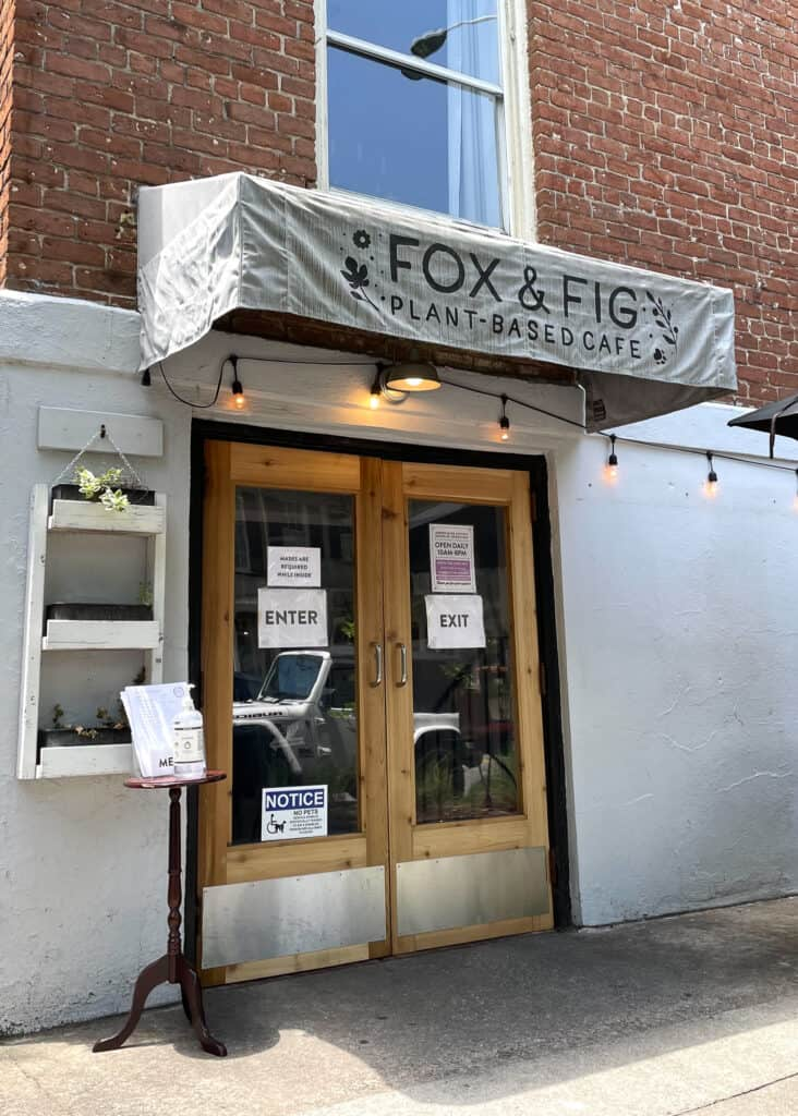 Fox and Fig Cafe - Savannah Travel Guide by Mindy Gayer Design Co.