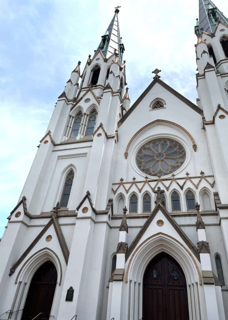 Cathedral Basilica of St. John The Baptist - Savannah Travel Guide by Mindy Gayer Design Co.