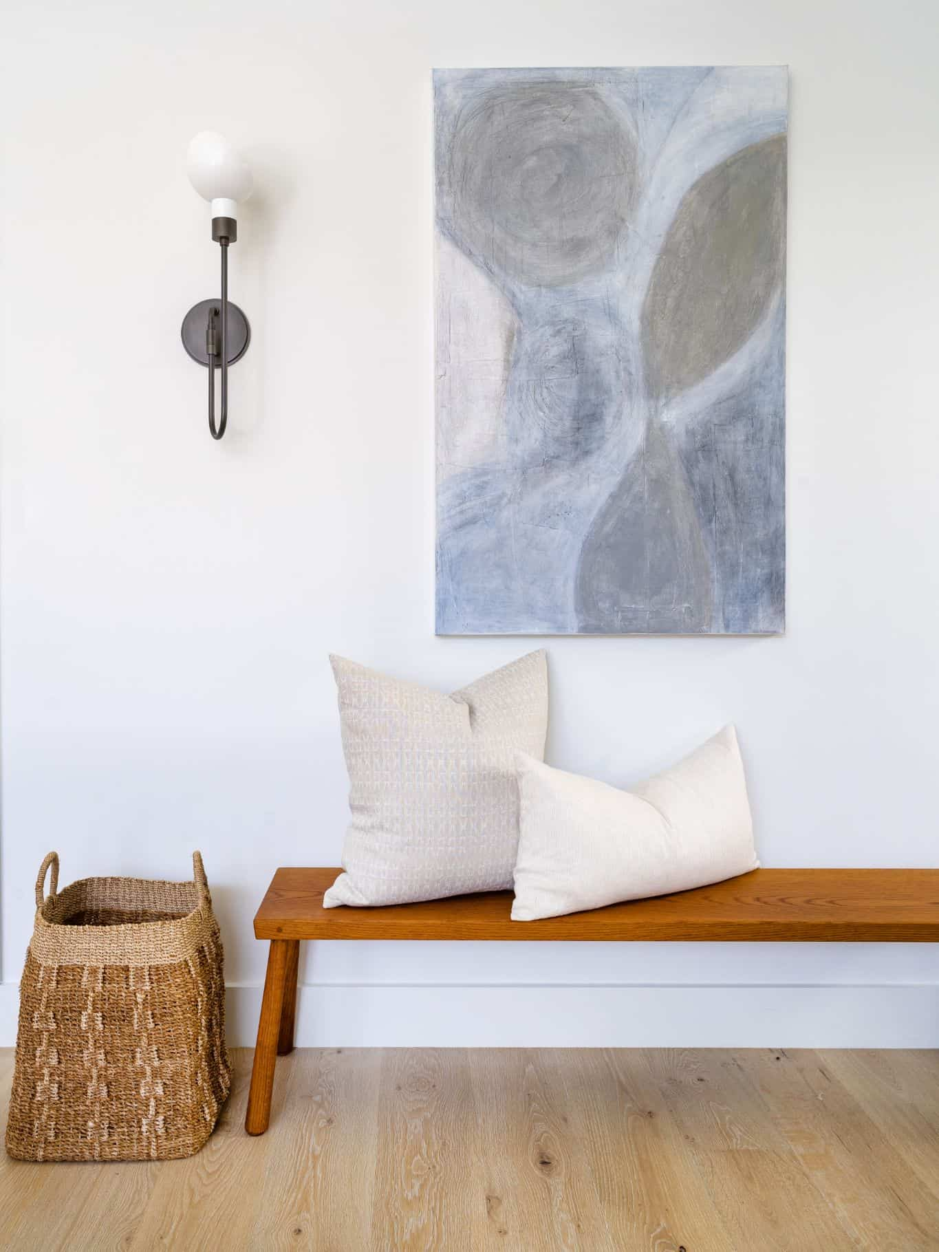 Entryway Bench Combos: A Perfect Pair - Mindy Gayer Design